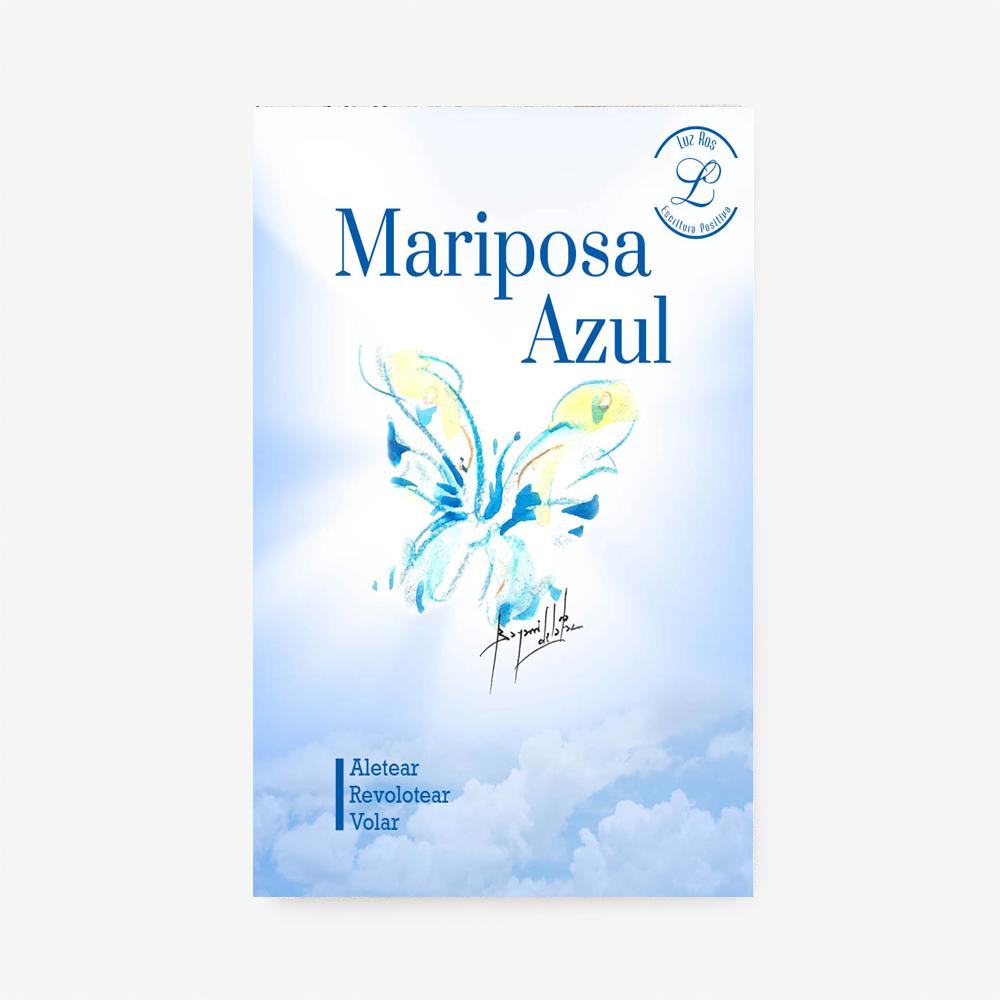 Portada libro Mariposa Azul
