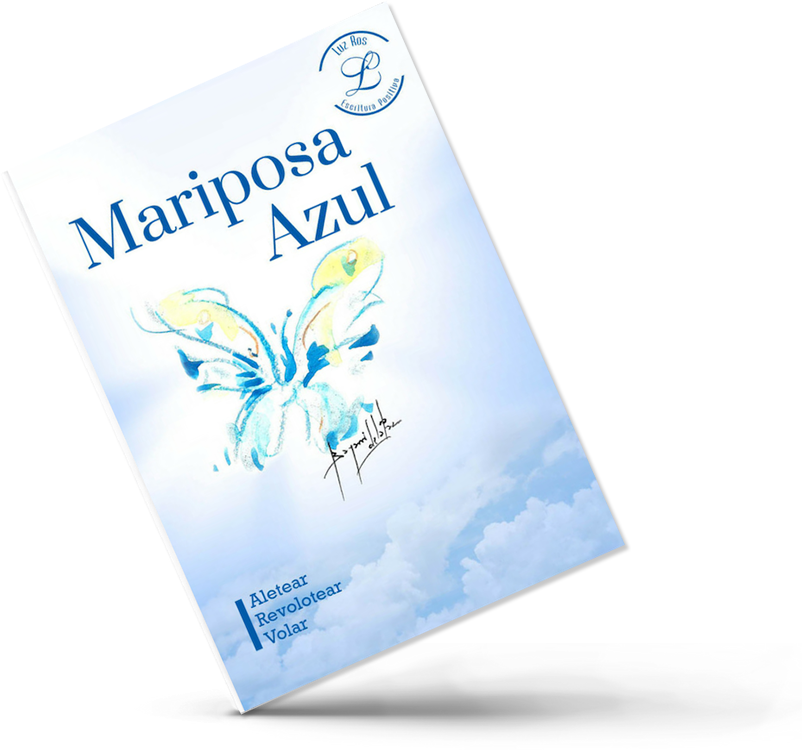 Libro Mariposa Azul De Luz Ros